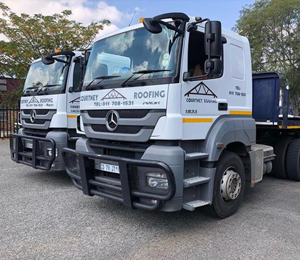 Delivery - Courtney Roofing